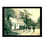 Cabaña de Kate Kearney, vintage de Killarney, Irla Postal