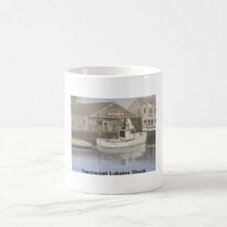 Cabaña de la langosta de Nantucket Taza De Café
