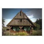 Cabaña de madera - foto