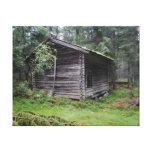 Cabaña de madera lona estirada galerias