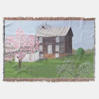 Cabaña de madera vieja - Philomont, VA Manta