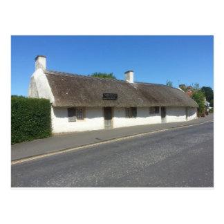 Cabaña de Robert Burns, Alloway, Ayrshire, Escocia Tarjeta Postal
