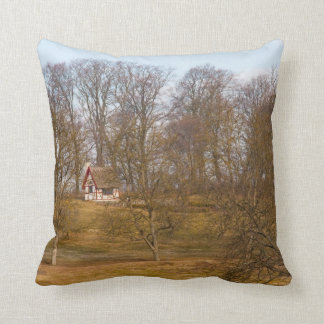 Cabaña del bosque almohada