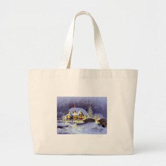 Cabaña del navidad bolsas