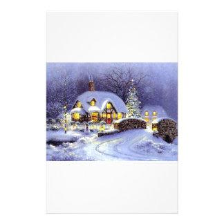 Cabaña del navidad  papeleria