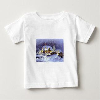 Cabaña del navidad playeras