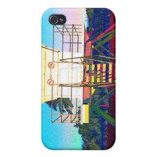 Cabaña del salvavidas a jugar con iPhone 4/4S carcasas
