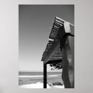 Cabaña en la playa - Labedee Haití 1-2012 3535-B Poster