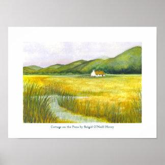 Cabaña en los pantanos de Brigid O'Neill Hovey # 3 Póster