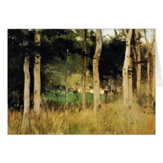 Cabaña en Normandía de Berthe Morisot Tarjetón