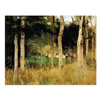Cabaña en Normandía de Berthe Morisot Tarjeta Postal