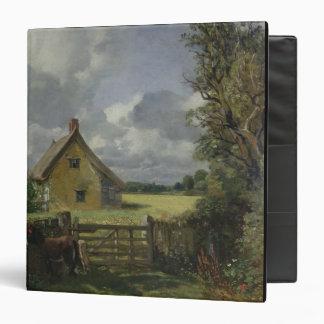 """Cabaña en un campo de maíz, 1833 carpeta 1 1/2"""""""