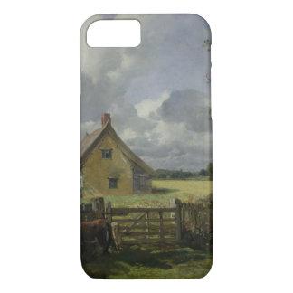 Cabaña en un campo de maíz, 1833 funda iPhone 7