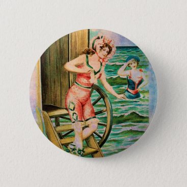 CABANA ENTRANCE PINBACK BUTTON