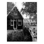 Cabaña holandesa vieja postal