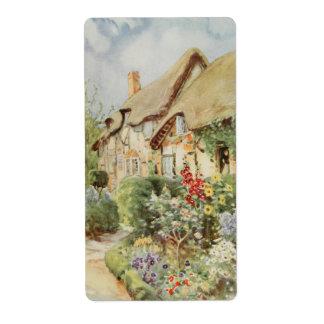 Cabaña II, Stratford-sobre-Avon de Anne Hathaway Etiqueta De Envío