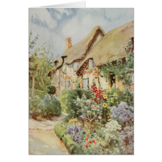 Cabaña II, Stratford-sobre-Avon de Anne Hathaway Felicitación