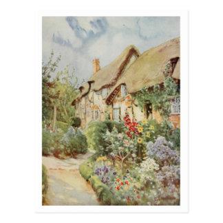 Cabaña II, Stratford-sobre-Avon de Anne Hathaway Tarjeta Postal