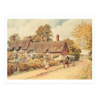 Cabaña III, Stratford-sobre-Avon de Anne Hathaway Postales