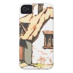 cabaña iPhone 4 Case-Mate protector