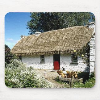 Cabaña irlandesa tapete de ratones