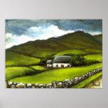 Cabaña irlandesa vieja posters
