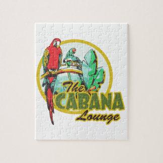 Cabana Lounge Jigsaw Puzzle