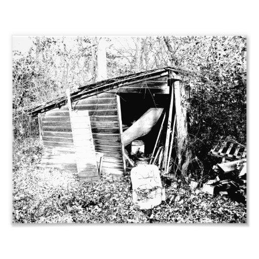 Cabaña quebrada arte con fotos