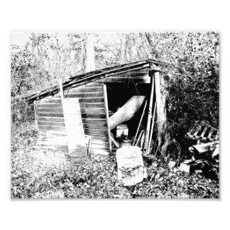 Cabaña quebrada fotografías