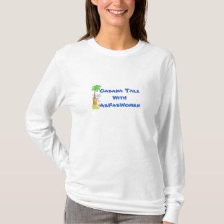 Cabana Talk With AbFabWomen Long Sleeved T-Shirt