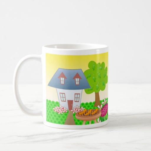 Cabaña - verano taza de café