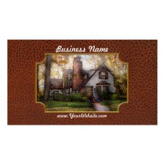 Cabaña - Westfield, NJ - abuela Ridinghoods hous Tarjeta De Visita