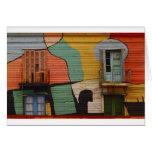 Cabañas coloridas Buenes Aires la Argentina Felicitaciones