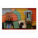 Cabañas coloridas Buenes Aires la Argentina Tarjetas Postales