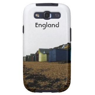 Cabañas de la playa en Inglaterra meridional Galaxy S3 Protectores