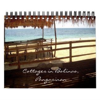 Cabañas en Bolinao, calendario de Pangasinan