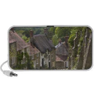 Cabañas en la colina del oro, Shaftesbury, Dorset, iPod Altavoz