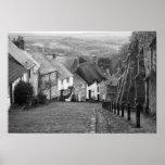 Cabañas en una colina de oro, Shaftesbury, Dorset, Impresiones