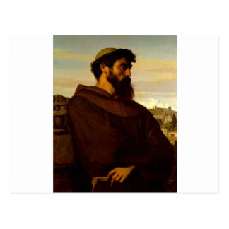 Cabanel Alejandro el monje romano Tarjetas Postales