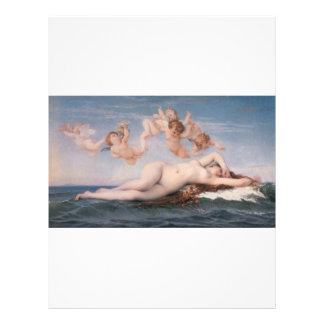 """Cabanel Alejandro el nacimiento de Venus 1863 Folleto 8.5"""" X 11"""""""