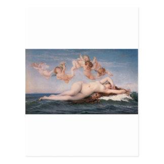 Cabanel Alejandro el nacimiento de Venus 1863 Postal