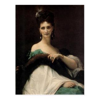 Cabanel Alejandro La Comtesse de Keller 1873 Postales