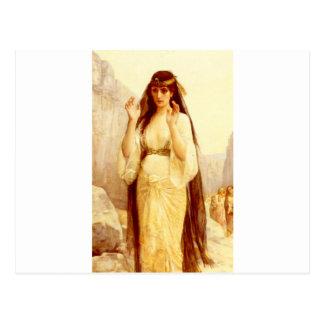 Cabanel Alejandro la hija de Jephthah 1879 Postal