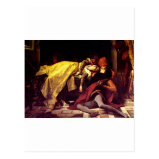 Cabanel Alejandro la muerte de Francisca de Rímini Postales
