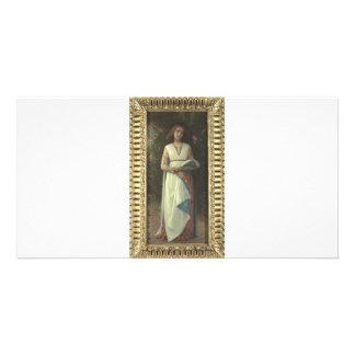 Cabanel  Alexandre  Giacomina Personalized Photo Card