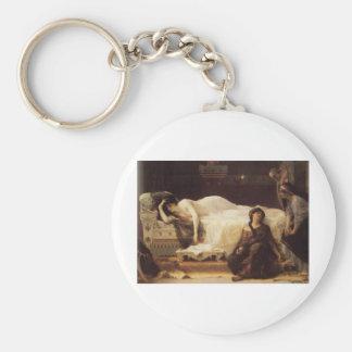 Cabanel Alexandre Phedre 1880 Basic Round Button Keychain