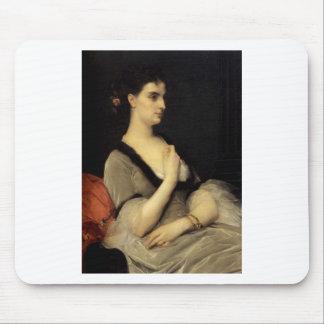 Cabanel Alexandre Portrait Of Countess E A Voronts Mouse Pad
