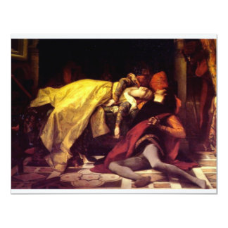 Cabanel Alexandre The Death of Francesca de Rimini Card