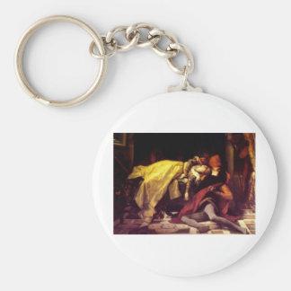 Cabanel Alexandre The Death of Francesca de Rimini Keychain