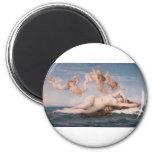 Cabanel el nacimiento de Venus 1863 Imanes
